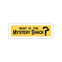Mystery Shack Sticker