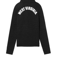 West Virginia University Bling Perfect Quarter-Zip - PINK - Victoria's Secret