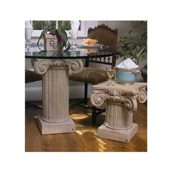 Scamozzi Classical Column Cocktail Table Base 18H