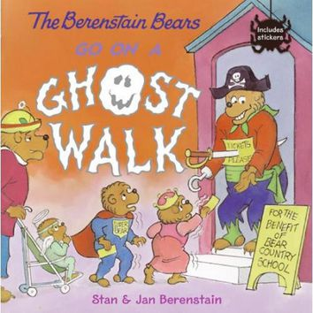 The Berenstain Bears Go on a Ghost Walk - Walmart.com