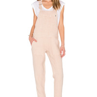 Obey Antwerp Overall in Rose Dust