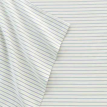 SONOMA life + style Stripe 400-Thread Count Sheet Set - King