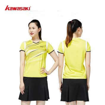 2018 New  KAWASAKI  Women's Tennis Skirts Quick Dry Running  Badminton Cycling  Fitness Skort for Girls Sports Skirts SK-T2705