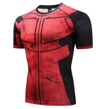 Deadpool Dead pool Taco  T Shirt 3D Printed T-shirts Men Bodybuilding Fitness Clothing Male Funny T Shirt  Costume MMA Summer Tees Tops AT_70_6