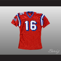 The Replacements Shane Falco Jersey 16 Sentinels Movie Any Size Any Player or Number