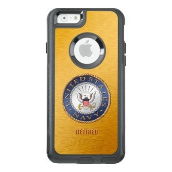 U.S. Navy Retired iPhone & Samsung Otterbox Cases