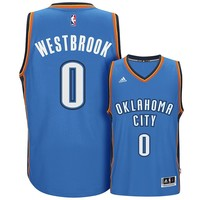 adidas Oklahoma City Thunder Russell Westbrook Swingman NBA Replica Jersey - Men, Size: