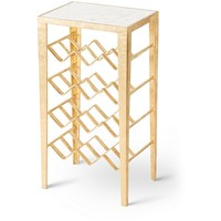 Gold Luxe Wine Rack Table | Oliver Bonas