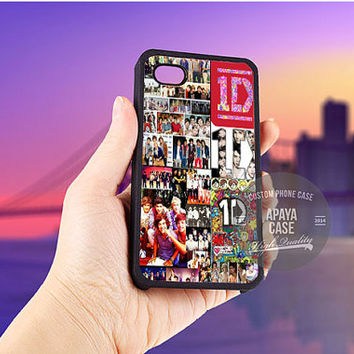 One Direction Collage case for iPhone 5/5s/5c/4/4s/6/6+,iPod 4th 5th,Samsung Galaxy S3/S4/S5,Note 2/3,HTC One,LG Nexus