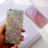 【New Upgrade】Cool Twinkle iPhone 7 SE 5S 6S 6 Plus Case Love Cover + Gift Box