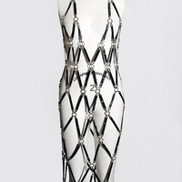 Horseshoe Linked Dress