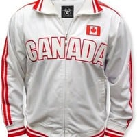 Canada International Olympic Soccer Track Jacket