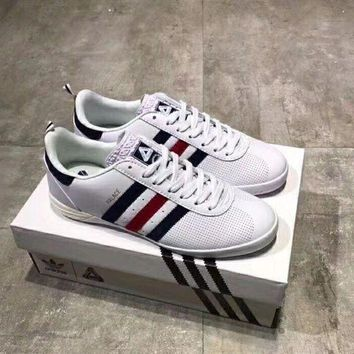 CREYHT3 Adidas Palace Indoor leather punching casual shoes!