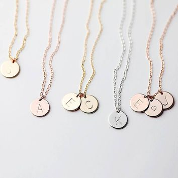 Disc Charm Necklace Best selling Items Family Tree Grandmother Jewelry Christmas gifts for mom - CNDisc Charm Necklace Best selling Items Family Tree Grandmother Jewelry Christmas gifts for mom - CN