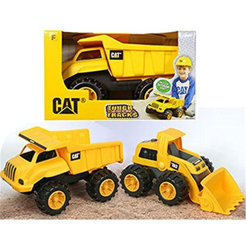 Toy State Caterpillar Tough Tracks Dump CAT