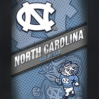 LED lighted 3D Art Officially NCAA Licensed Picture North Carolina Tarheels