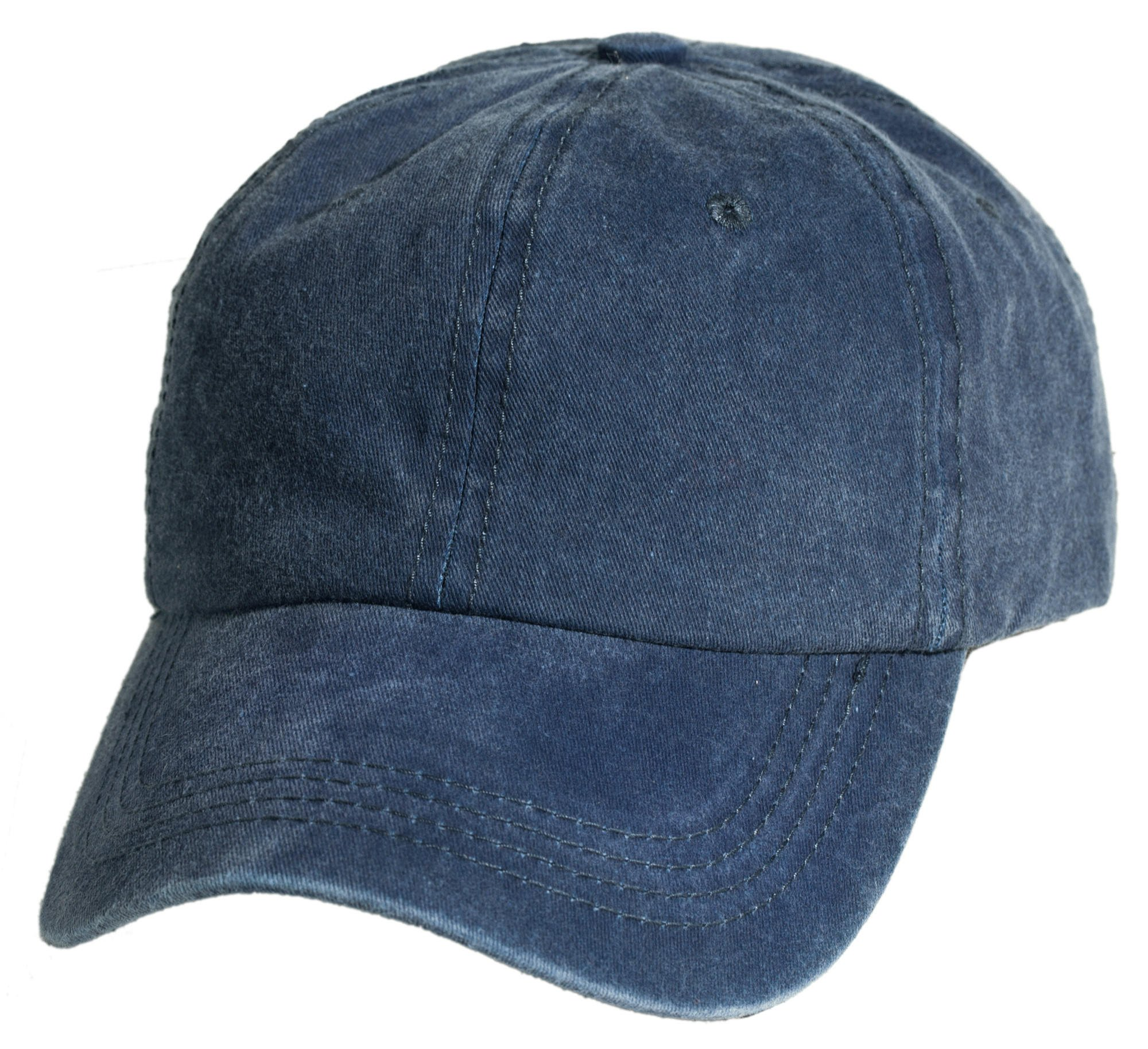 Washed Cotton Baseball Cap by Levine Hat from Levine Hat Co. 3fba936dc97