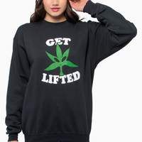 Petals & Peacocks Get Lifted Sweatshirt $56