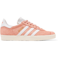 adidas Originals - Gazelle cracked-suede sneakers