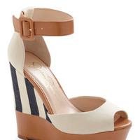 Coast is Clear Wedge | Mod Retro Vintage Wedges | ModCloth.com