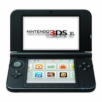 Nintendo 3DS XL Black/Black
