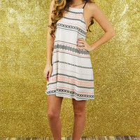 Let The Sun Shine Dress: Multi