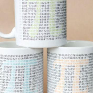 Pi Mug - Math Geek - Numbers Nerd - Pi Enthusiast