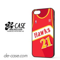 Hawks Basketball Jersey For Iphone 5 Iphone 5S Case Phone Case Gift Present YO