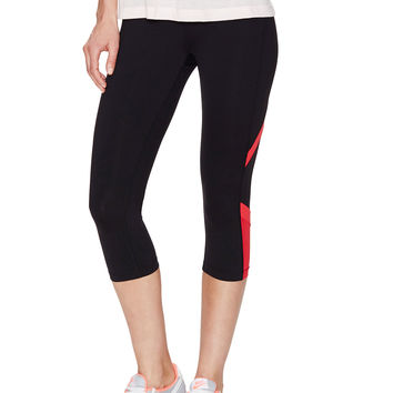 Alo Yoga Lightning Capri - Black -