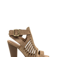 Across Town Cut-Out Heels