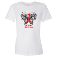 Stroke Disease Awareness Women's Fashion T-Shirts