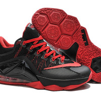 Nike Lebron James 12 Low Black Red