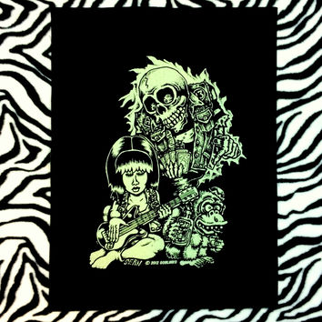GHOST STORY-GLOW IN THE DARK-BACK PATCH