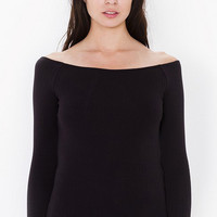 Long Sleeve Knitted Sweater in Black Grey or White