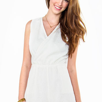 White Crystals Romper-Limited Stock