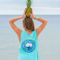 Palm Print Pocket Tank