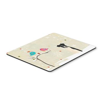 Christmas Presents between Friends Smooth Fox Terrier Mouse Pad, Hot Pad or Trivet BB2570MP
