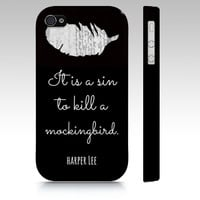 To Kill A Mockingbird Premium Case - Black from NeverMore