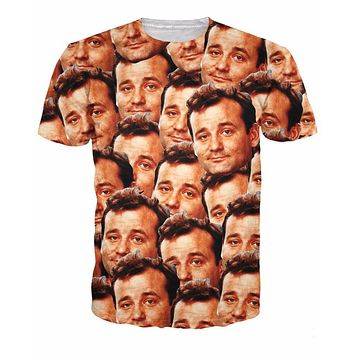 Bill Murray Collage T-Shirt