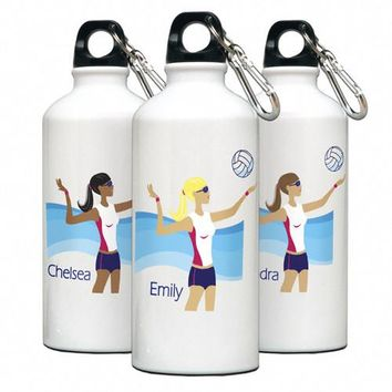 Go-Girl Water Bottle - Volleyball