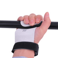 2pc Strong Pro Weight Lifting Training Gym Hook Grip Strap Glove Wrist Support Practical Adjustable Wrist Straps