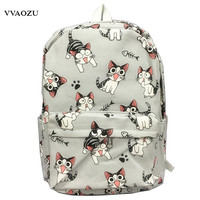 Cartoon Chi's Cat Backpack School Bags Chi's Sweet Home Anime Cosplay Cute Cat Rucksack Schoolbag for Kids Daypack