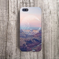 MOON iPhone 5 case, Protective iPhone 4 Case, Tribal iPhone 4 case, Bohemian iPhone 4S case, Hippie iPhone Case, Hipster iPhone Case