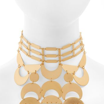 Topshop Link Stick Statement Necklace | Nordstrom