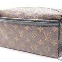 AUTH PRE-OWNED LOUIS VUITTON LV MONOGRAM MACASSAR TROUSSE TOILETTE M40378 171492