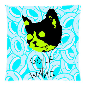 Odd Future (18x18) 45x45cm 2 Sided Sofa Bed Decorative All Over Print Cushion Cover OF Donut Golf Wang Cat Throw Pillow Case