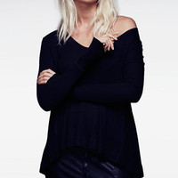 Free People Malibu High-Low Thermal Top | macys.com