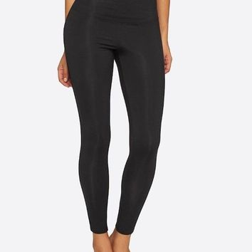 Legging with Mesh Elastic Sides