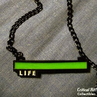 Glowing Life Bar Necklace