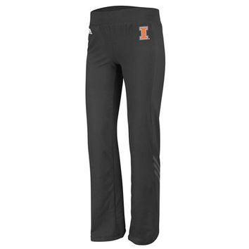 adidas Illinois Fighting Illini Women's Black Primary Logo Training Pants